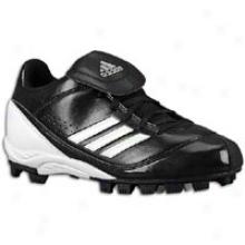 Adidas Monica Md Low W - Womens - Black/whitem/etallic Silver