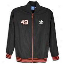 Adidas Originals Academy Crest Jacket - Mens - Black/core Energy