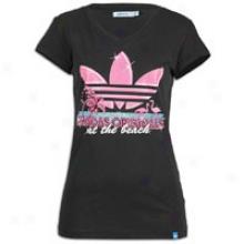 Adidas Originals Beach S/s T-shirt - Womens - Black