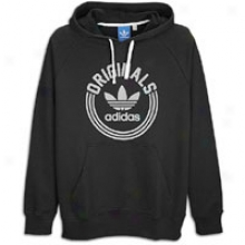 Adidas Originals Collegiate Hooded Sweatshirt - Mens - Black