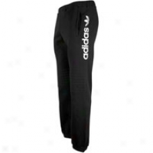 Adidas Originals Cut And Sew Padded Knee Clip Pant - Mens - Black/white
