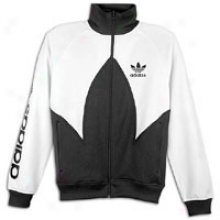 Adidas Originals Cut And Sew Track Top - Mens - Black/whtie