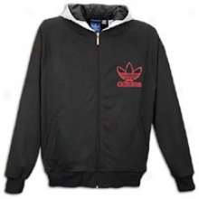 Adidas Originals D Rose Letterman Jacket - Mens - Solid Grey/black