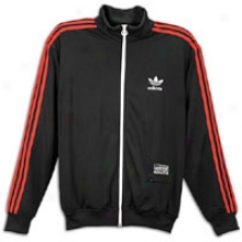 Adidas Originals D Rose Track Top - Mens - Black/light Scarlet