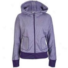 Adidas Originals Fastidious  Hoodie - Womens - Heathered Eggplant/ice Grey