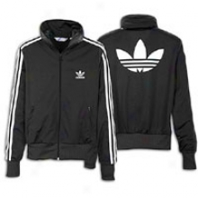 Adidas Originald Firebird Full-ip Track Jacket - Womens - Black/white