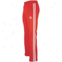 Adidas Originals Fleece Pant - Mens - Light Scarlet/white