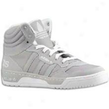 Adidas Originals Irvington Mid - Mebs - Aluminum/aluminum/white
