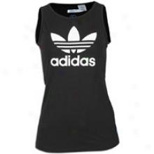 Adidas Originals Logo Tank - Womens - Black/white