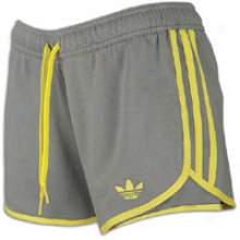 Adidas Originals Roller Short - Womens - Grey Lull