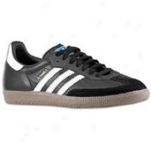 Adidas Originals Samba - Mens - Black/white/gum