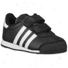 Adidas Originals Samoa - Toddlers - Black/white/black