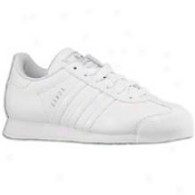 Adidas Originals Samoa - Womens - White/white/silver