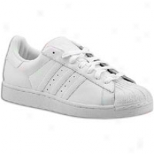 Adidas Originals Superstar 2 - Big Kids - White/white/white