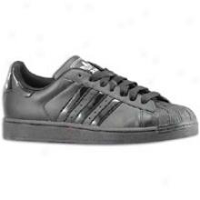 Adidas Originals Superstar 2 Patent - Mens - Black/black/black