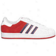 Adidas Originals Superstar Lite - Mens - White/red/navy