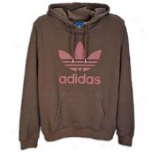 Adidas Originals Trefoii Pull Over Hoodid - Mens - Espresso/carfinal