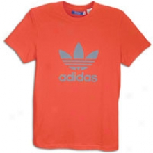 Adidas Originals Trefoil S/s Logo T-shirt - Mens - Core Energy/medium Lead