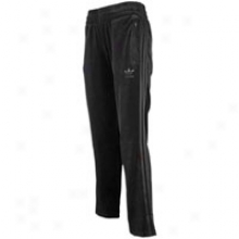 Adidas Originals Velour Track Pant - Womens - Black
