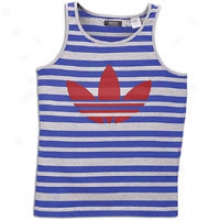 Adidas Originals Yipes Tank - Mens - Light Grey Heather/prime Ink Blue/cradinal