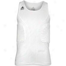 Adidas Padded Gfx Tank - Mens - White