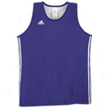 Adidas Practice Rev. Jersey - Mens - College Purple/white