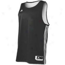 Adidas Practice Reversible Jersey - Mens - Black/white