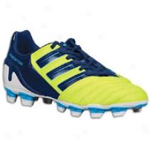 Adidas Predator Absolado Trx Fg - Big Kids - Slime/dark Indigo/super Cyan S12