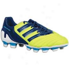 Adidas Predator Absolado Trx Fg - Mens - Slime/dark Indigo/super Cyan S12