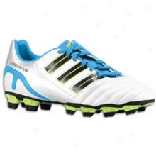 Adidas Predator Absolion Trx Fg - Big Kids - Run White/black/sharp Blue