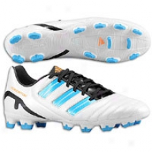 Adidas Predator Absolion Trx Fg - Men s- Running White/sharp Blue Metallic/warning