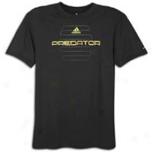 Adidas Predator Elite T-shirt - Mens - Black
