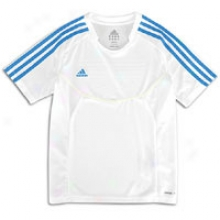 Adidas Predator Style Climalite Jersey - Big Kids - White/sharp Blue