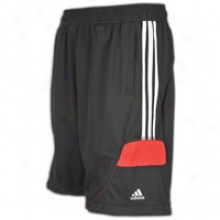 Adidas Predator Style Training Shor t- Mens - Black/red