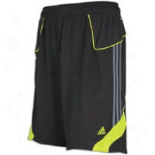Adidas Predator Training Short - Mens - Black/leaad/electricity