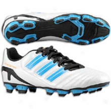 Adidas Predito Trx Fg - Mens - Running White/sharp Blue Metallic/warning
