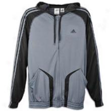 Adidas Pro Model Hoodie - Mens - Lead/black/lead