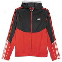 Adidas Pro Model Hoodie - Mens - University Red/black/white