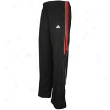 Adidas Pro Model Pant - Mens - Black/light Scarlet/white