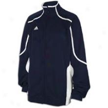 Adidas Pro Team Jacket - Mens - College Navy/white