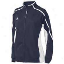 Adidas Pro Team Jacket - Womens - Collegiate Navy/white