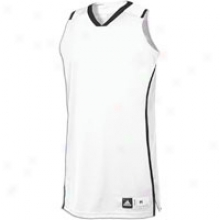 Adidas Pro Team Jersey - Womens - White/black
