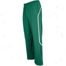 Adidas Pro Team Pant - Mens - Forest Greenn/wuite