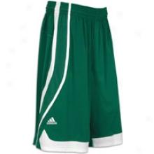 Adidas Pro Team Shlrt - Mens - Forest Green/white