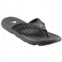 Adidas Raggmo Supercloud Thong - Mens - Black/gr3y Rock/mid Cinder