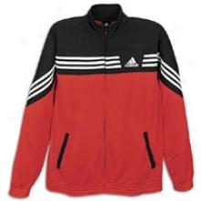 Adidas Raise Up Jacket - Mens - Scarlet/black