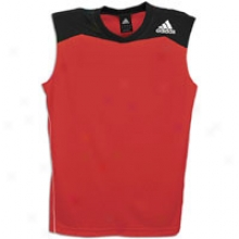 Adidas Raise Up S/l Top - Mens - Light Scarlet/black