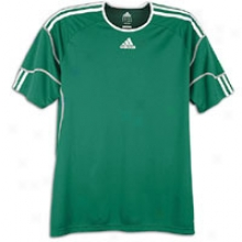 Adidas Regista S/s Jersey - Big Kids - Forest/white