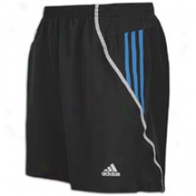 "Adidas Response Ds 7"" Short - Mens - Black/prime Blue/lt Onix"