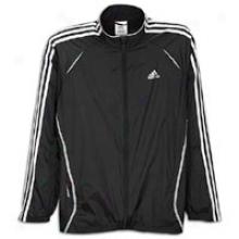 Adidas Response Ds Wind Jacket - Mens - Black/white/light Onyx